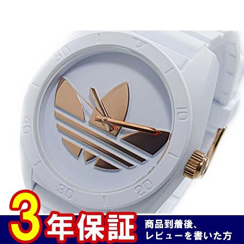 アディダス ADIDAS サンティアゴ SANTIAGO クオーツ メンズ 腕時計 ADH2918 ローズゴールド