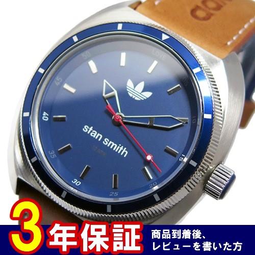 アディダス スタンスミス STAN SMITH クオーツ メンズ 腕時計 ADH3006 ネイビー