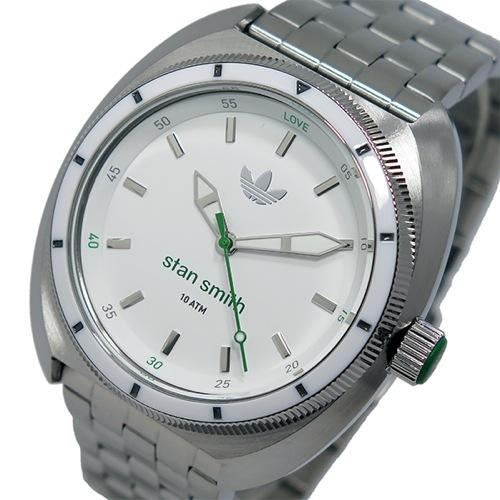 アディダス ADIDAS スタンスミス STAN SMITH クオーツ メンズ 腕時計 ADH3007 シルバー
