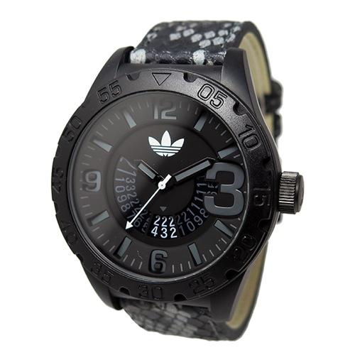 アディダス ADIDAS ニューバーグ クオーツ メンズ 腕時計 ADH3042 ブラック