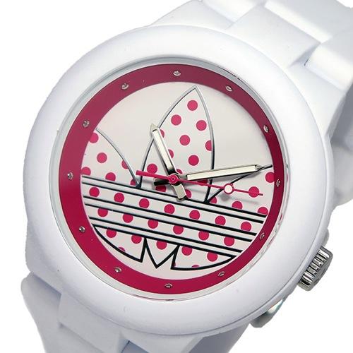 アディダス ADIDAS アバディーン クオーツ ユニセックス 腕時計 ADH3051 ホワイト