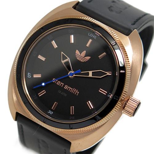 アディダス ADIDAS スタンスミス STAN SMITH クオーツ メンズ 腕時計 ADH3083 ローズゴールド