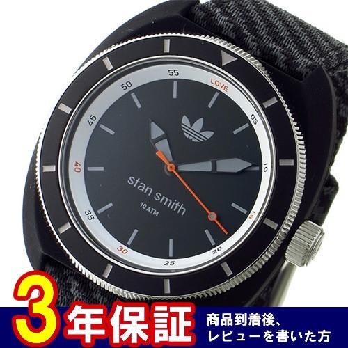 アディダス スタンスミス クオーツ メンズ 腕時計 ADH3155 ブラック