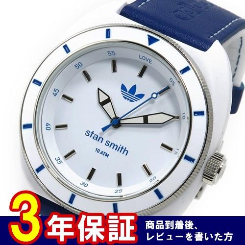 アディダス スタンスミス STAN SMITH クオーツ メンズ 腕時計 ADH9087 ブルー