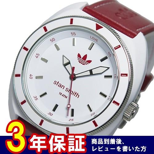 アディダス スタンスミス STAN SMITH クオーツ メンズ 腕時計 ADH9088 レッド