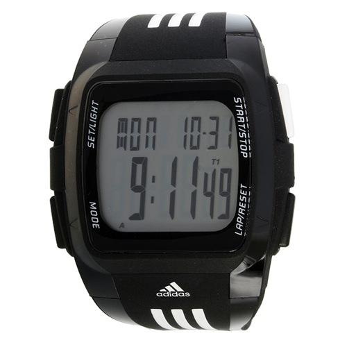 アディダス パフォーマンス デュラモ クオーツ ユニセックス 腕時計 ADP6071 ブラック
