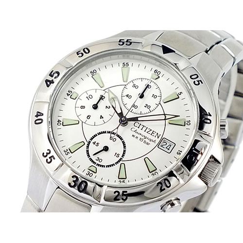 シチズン CITIZEN クロノグラフ 腕時計 AN3330-51A