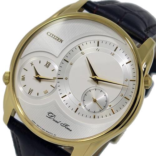 シチズン CITIZEN クオーツ メンズ 腕時計 AO3008-07A ホワイト