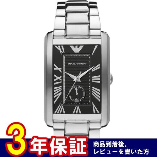 エンポリオ アルマーニ EMPORIO ARMANI メンズ 腕時計 AR1608 ブラック