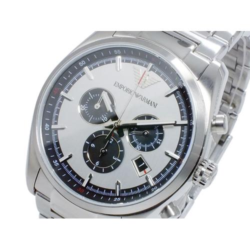 エンポリオ アルマーニ EMPORIO ARMANI クオーツ メンズ クロノ 腕時計 AR6007