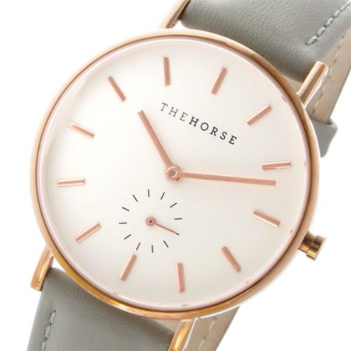 ザ ホース クラシック クオーツ ユニセックス 腕時計 AS01-B1 ホワイト/グレー></a><p class=blog_products_name