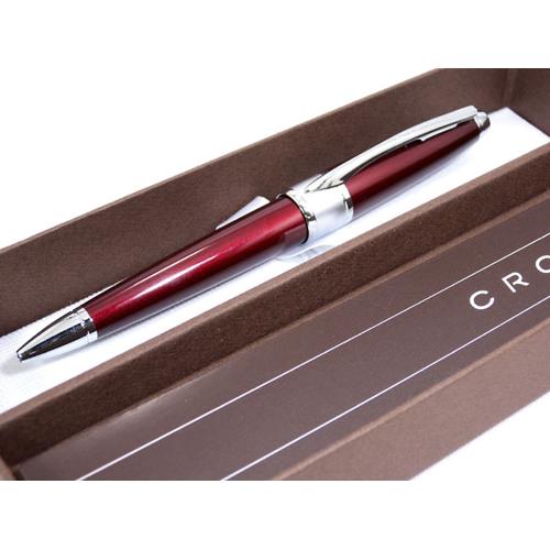 クロス CROSS アポジー レッドラッカー ボールペン AT0122-3