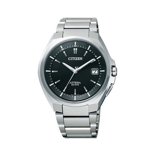 シチズン CITIZEN アテッサ エコ ドライブ 電波時計 メンズ 腕時計 ATD53-3052 国内正規