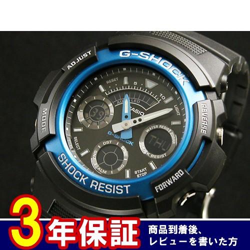 カシオ CASIO Gショック G-SHOCK アナデジ 腕時計 AW-591-2AJF