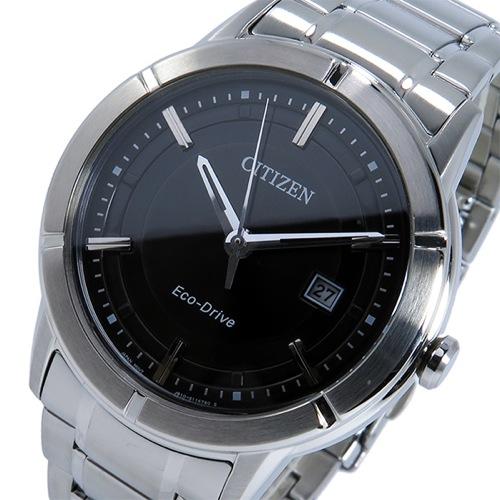 シチズン CITIZEN クオーツ メンズ 腕時計 AW1080-51E ブラック