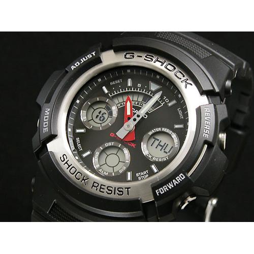 カシオ CASIO Gショック G-SHOCK アナデジ 腕時計 AW590-1A