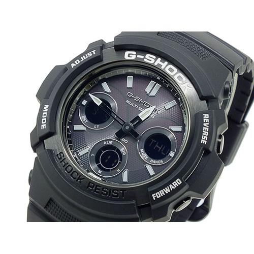 カシオ CASIO Gショック ガリッシュブラックシリーズ アナデジ メンズ 腕時計  AWG-M100BW-1AJF