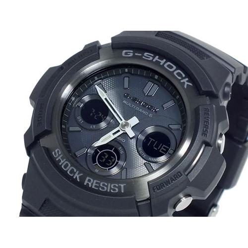カシオ CASIO Gショック G-SHOCK 電波 ソーラー マルチバンド5 腕時計 AWG-M100B-1A