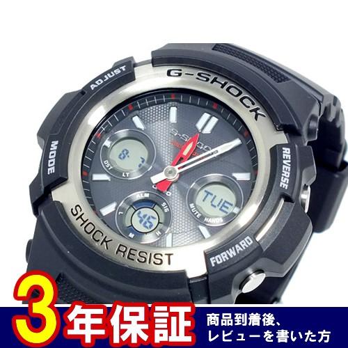 カシオ Gショック アナデジ ソーラー 腕時計 AWR-M100-1A