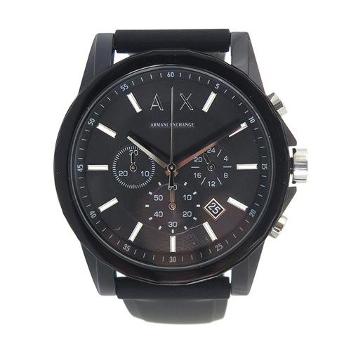 アルマーニエクスチェンジ クオーツ メンズ 腕時計 AX1326 ブラック></a> <p class=blog_products_name