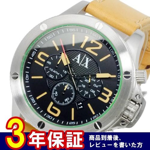 アルマーニ エクスチェンジ クオーツ メンズ クロノ 腕時計 AX1516 ブラック