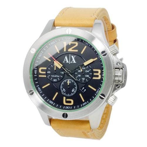 アルマーニ エクスチェンジ クオーツ メンズ クロノ 腕時計 AX1516 ブラック></a><p class=blog_products_name