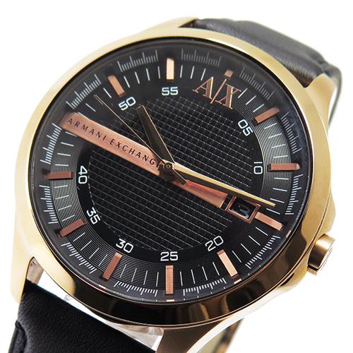 アルマーニ エクスチェンジ クオーツ メンズ 腕時計 AX2129 ブラック
