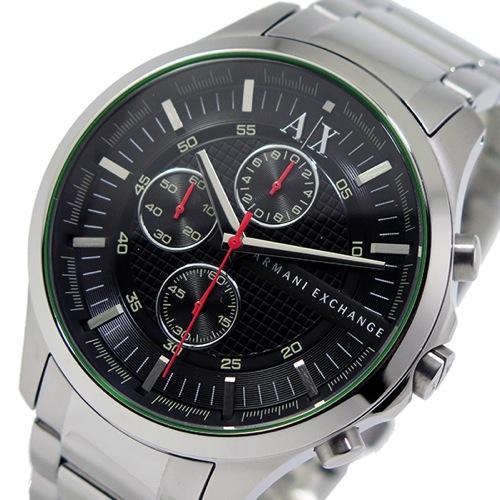 アルマーニ エクスチェンジ クオーツ クロノ メンズ 腕時計 AX2163 ブラック></a> <p class=blog_products_name