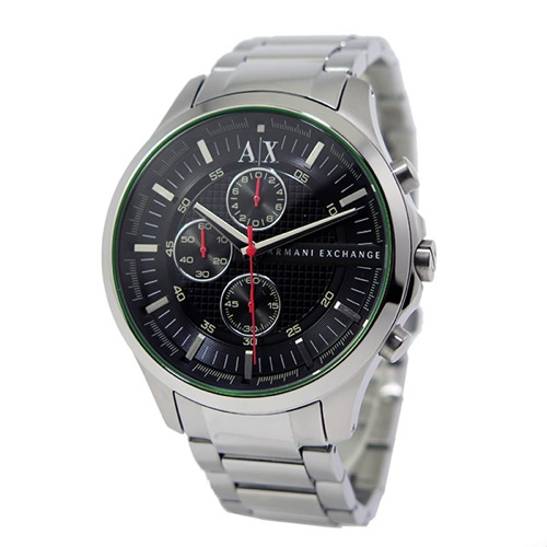 アルマーニ エクスチェンジ クオーツ クロノ メンズ 腕時計 AX2163 ブラック