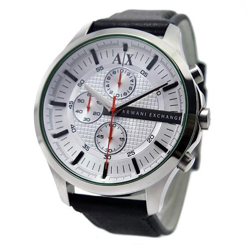 アルマーニ エクスチェンジ クオーツ クロノ メンズ 腕時計 AX2165 ホワイト
