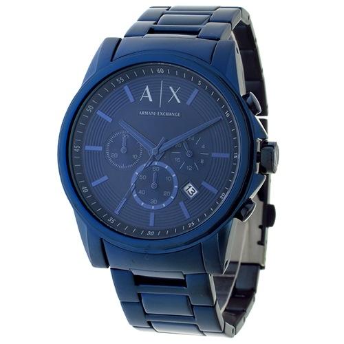 アルマーニ エクスチェンジ クロノ クオーツ メンズ 腕時計 AX2512 ネイビー></a><p class=blog_products_name