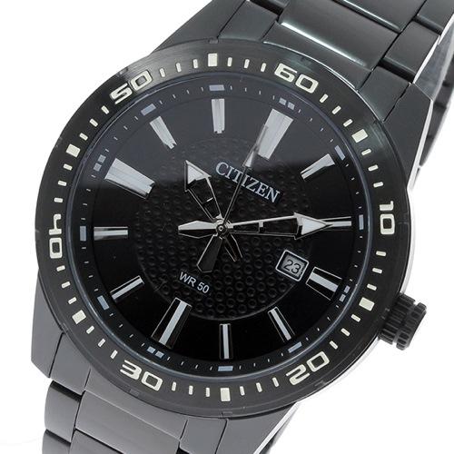 シチズン CITIZEN クオーツ メンズ 腕時計 BI1065-59E ブラック