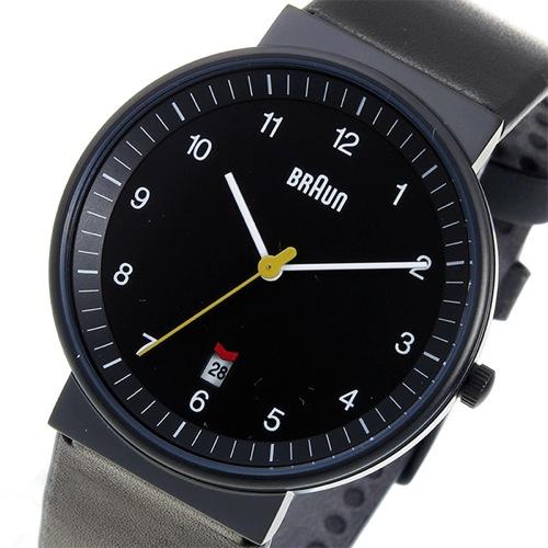 ブラウン BRAUN クオーツ メンズ 腕時計 BN0032BKBKG ブラック