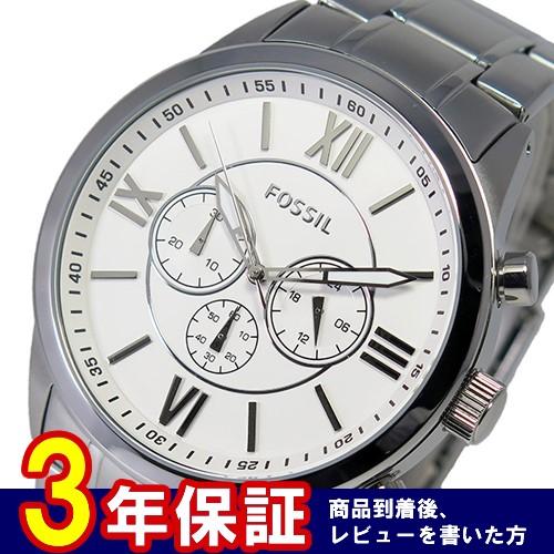 フォッシル FOSSIL クオーツ メンズ クロノ 腕時計 BQ1124 ホワイト
