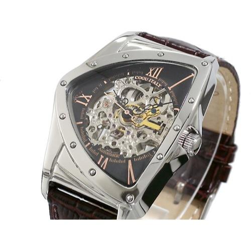 コグ COGU フルスケルトン 自動巻き 腕時計 BS00T-BRG