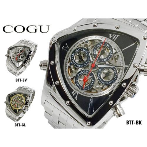 コグ COGU 流通限定モデル 自動巻 メンズ マルチカレンダー 腕時計 BTT-BK