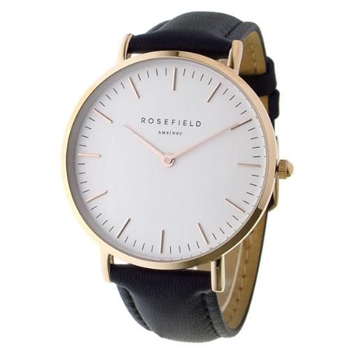 ローズフィールド THE BOWERY 38mm クオーツ ユニセックス 腕時計 BWBLR-B1 ホワイト></a><p class=blog_products_name