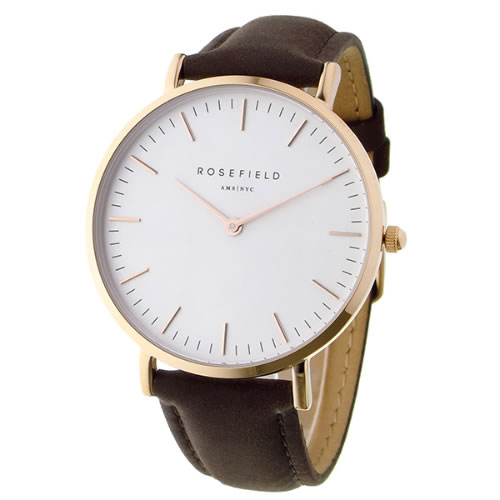 ローズフィールド THE BOWERY 38mm クオーツ ユニセックス 腕時計 BWBRR-B3 ホワイト></a><p class=blog_products_name