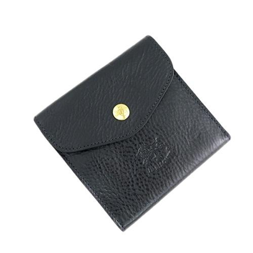 イルビゾンテ ILBISONTE 二つ折り財布 メンズ レディース C0424P-153 ブラック></a><p class=blog_products_name