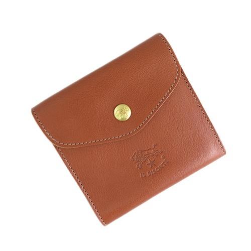 イルビゾンテ ILBISONTE 二つ折り財布 メンズ レディース C0424P-214 ブラウン></a><p class=blog_products_name