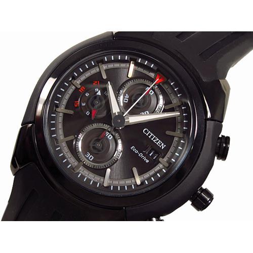シチズン CITIZEN エコドライブ クロノグラフ メンズ 腕時計 CA0285-01E