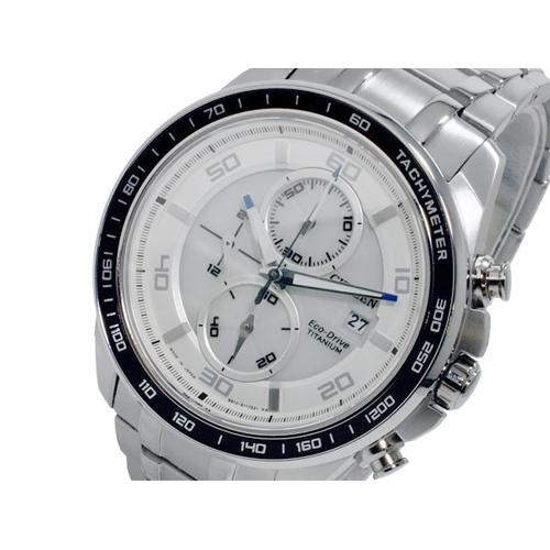 シチズン CITIZEN エコドライブ クロノ メンズ 腕時計 CA0341-52A