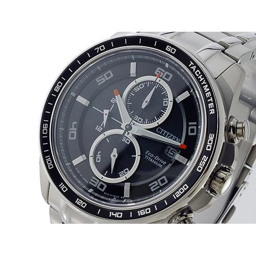 シチズン CITIZEN エコドライブ クロノ メンズ 腕時計 CA0341-52E