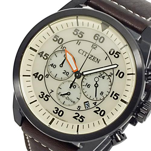 シチズン CITIZEN エコドライブ ソーラー メンズ クロノ 腕時計 CA4215-04W