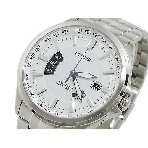 シチズン CITIZEN エコドライブ ソーラー 電波腕時計 CB0011-51A