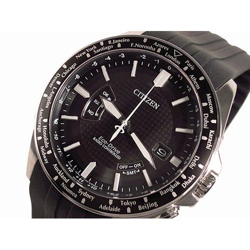 シチズン CITIZEN エコドライブ 電波 ソーラー メンズ 腕時計 CB0027-00E