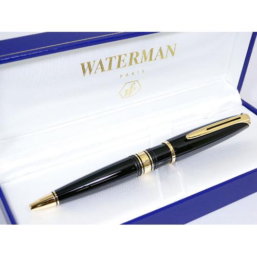 ウォーターマン WATERMAN チャールストン ボールペン エボニーブラック GTBP
