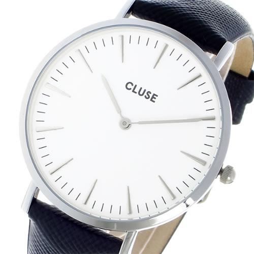 クルース CLUSE クオーツ ユニセックス 腕時計 CL18232 ホワイト></a><p class=blog_products_name