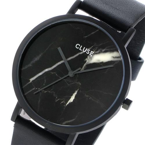 クルース CLUSE ラロッシュ 大理石モデル 38mm ユニセックス 腕時計 CL40001 フルブラック/ブラックマーブル></a><p class=blog_products_name