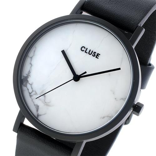 クルース CLUSE ラロッシュ 大理石モデル 38mm ユニセックス 腕時計 CL40002 フルブラック/ホワイトマーブル></a><p class=blog_products_name